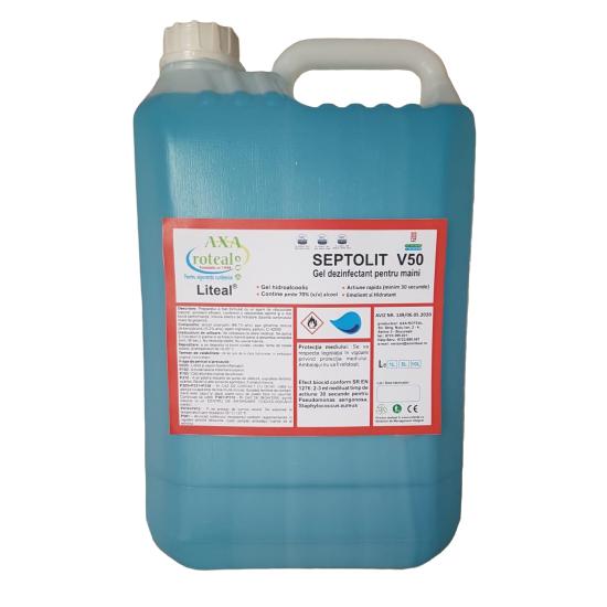 Gel dezinfectant maini 5 L